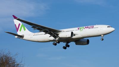 EC-MJS - Airbus A330-243 - Wamos Air