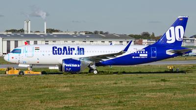 D-AUBN - Airbus A320-271N - Go Air