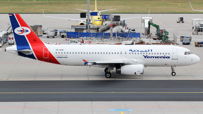 7O-AFB - Airbus A320-233 - Yemenia - Yemen Airways