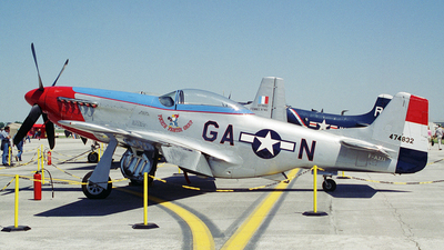 F-AZJJ - North American P-51D Mustang - Private