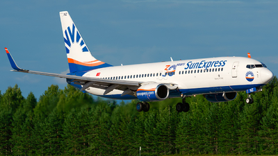 A picture of TCSNZ - Boeing 73786N - SunExpress - © Laszlo Fekete