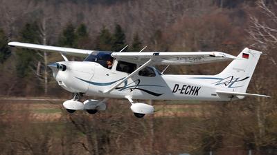 D-ECHK - Cessna 172S Skyhawk SP - Fliegerverein München
