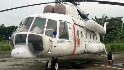 ER-MGV - Mil Mi-8MTV-1 - BNPB - Indonesian National Board for Disaster Management