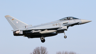 30-74 - Eurofighter Typhoon EF2000 - Germany - Air Force
