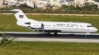 KAF308 - Fokker 70 - Kenya - Air Force
