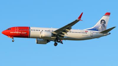 EI-FYG - Boeing 737-8 MAX - Norwegian