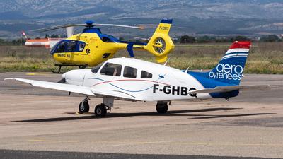 F-GHBQ - Piper PA-28-181 Archer II - Aéropyrénées