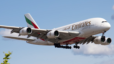 A6-EUK - Airbus A380-861 - Emirates