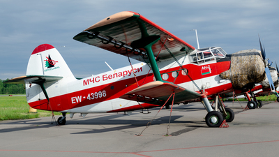 EW-43998 - PZL-Mielec An-2R - Belarus - Ministry for Emergency Situations (MChS)