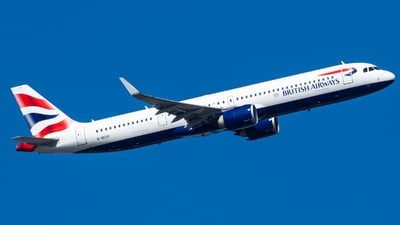 G-NEOP - Airbus A321-251NX - British Airways