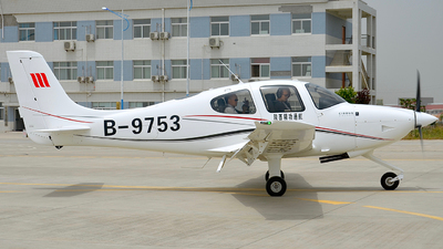 B-9753 - Cirrus SR20 - Jinggong General Aviation