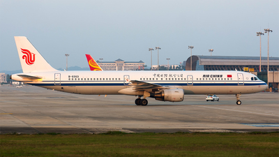 B-6363 - Airbus A321-213 - Air China