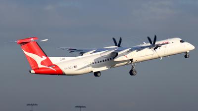 A picture of VHQOJ - De Havilland Canada Dash 8400 - QantasLink - © JKKW