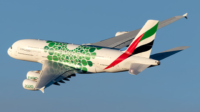 A6-EEW - Airbus A380-861 - Emirates