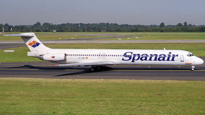 EC-GBA - McDonnell Douglas MD-83 - Spanair