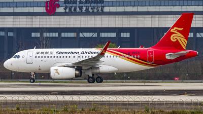 A picture of B8665 - Airbus A319133 - Shenzhen Airlines - © Messerschmitt.X