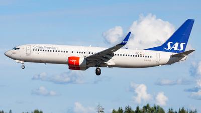 A picture of LNRGE - Boeing 73786N - SAS - © Sebastian E Burmo