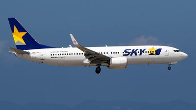 JA73AA - Boeing 737-8AL - Skymark Airlines