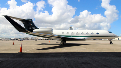 M-YGIG - Gulfstream G650ER - Private