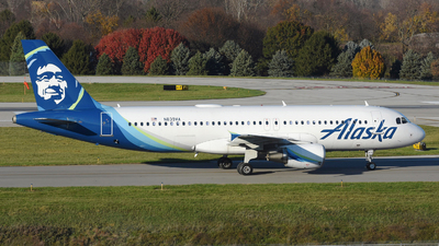 A picture of N839VA - Airbus A320214 - Alaska Airlines - © DJ Reed - OPShots Photo Team