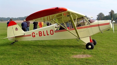 G-BLLO - Piper L-18C Super Cub - Private