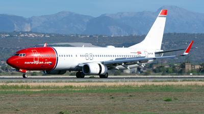 EI-FJK - Boeing 737-8JP - Norwegian