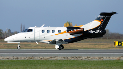 A picture of HBJFK - Embraer Phenom 100 - [50000062] - © Marin Ghe.
