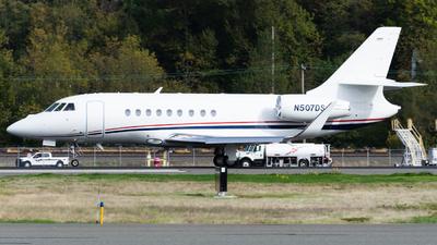N507DS - Dassault Falcon 2000EX - Private