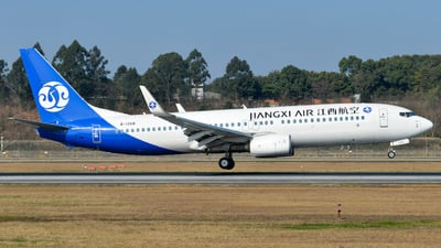 A picture of B1268 - Boeing 73785C - Jiangxi Air - © CRH787
