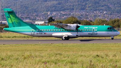 EI-FAS - ATR 72-212A(600) - Aer Lingus Regional (Stobart Air)