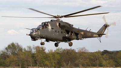 336 - Mil Mi-24P Hind F - Hungary - Air Force