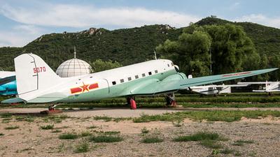 5070 - Lisunov Li-2 - China - Air Force