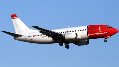 LN-KKV - Boeing 737-3Y5 - Norwegian