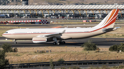 VP-BHD - Airbus A330-243(CJ) - Private