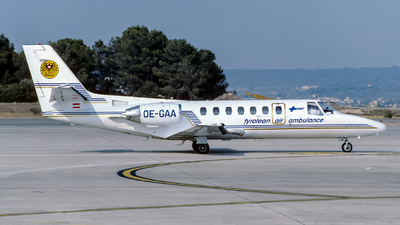 OE-GAA - Cessna 560 Citation V - Tyrol Air Ambulance
