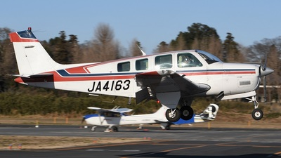 JA4163 - Beech A36 Bonanza - Private
