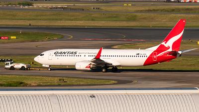 A picture of VHXZB - Boeing 737838 - Qantas - ©  Gyo Kamata