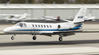 N115K - Cessna 560 Citation V - Private