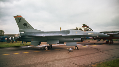 81-0671 - General Dynamics F-16A Fighting Falcon - United States - US Air Force (USAF)