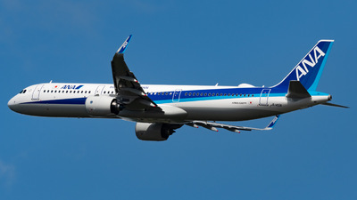 A picture of JA145A - Airbus A321272N - All Nippon Airways - © shiroiruka
