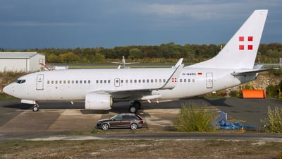 D-AWBC - Boeing 737-7AK(BBJ) - PrivatAir Germany