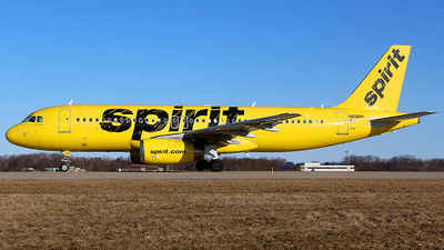 A picture of N608NK - Airbus A320232 - Spirit Airlines - © Chrisjake