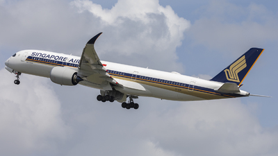 9V-SHQ - Airbus A350-941 - Singapore Airlines