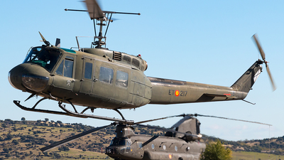 HU.10-40 - Bell UH-1H Iroquois - Spain - Army