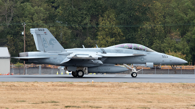 168254 - Boeing EA-18G Growler  - United States - US Navy (USN)
