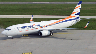 A picture of OKTVW - Boeing 73786Q - Smartwings - © Florian Resech