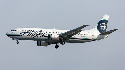 N786AS - Boeing 737-4S3 - Alaska Airlines