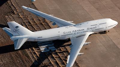 N151AS - Boeing 747-446 - Saudi Arabian Airlines