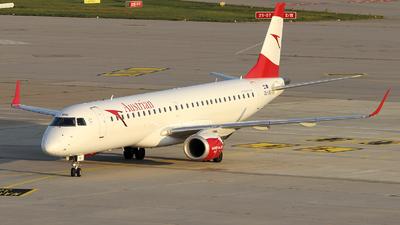 OE-LWG - Embraer 190-200LR - Austrian Airlines