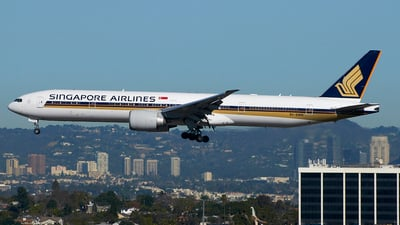 9V-SWN - Boeing 777-312ER - Singapore Airlines
